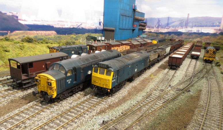 Seaford - A British diesel outline, DCC operated 'OO' scale